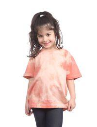 Kids Tie-Dye Tee in Pink