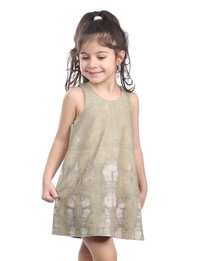 Tank Dress in Khaki
