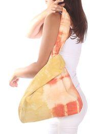 حقيبة كتف - برتقالى  وأصفر