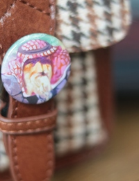 Pin Button: Jordanian Man