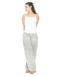 Wide Leg Pants in Light Grey