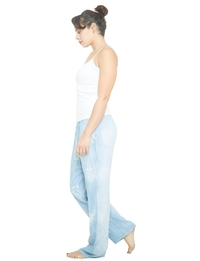 Wide Leg Pant in Light Blue
