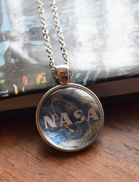 Galactic NASA Necklace