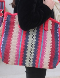 Woven Tote Bag, Large