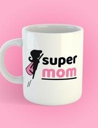 Mothers Day Mug: Super Mom