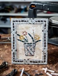 Mosaic Flower Pot