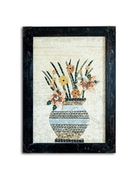 Large Mosaic - Flowers in Vase