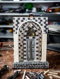 لوحة باب من الفسيفساء - صغيرة