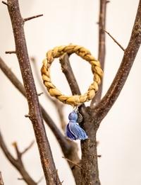 اسوارة - شراشيب زرقاء