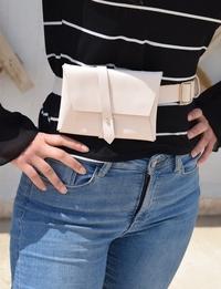 Beige Belt Bag