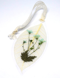 Dried Flower Bookmark