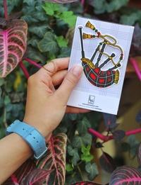 Bagpipe, al-Qirbeh Sticker