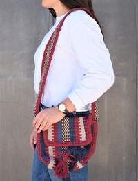 حقيبة بألوان بوهيمية