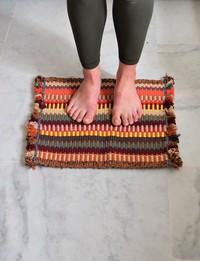 Bath Mat in Bright Tones