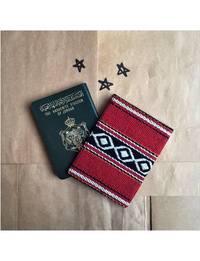 Bedouin Passport Cover in Red