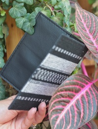 Bedouin Passport Cover in Black