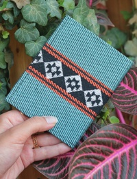 Bedouin Passport Cover in Turquoise