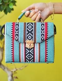 Bedouin Box Bag in Blue
