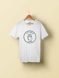 Qalbek Aswad - White T-shirt