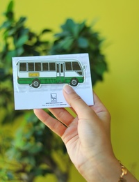 Coaster Bus Sticker