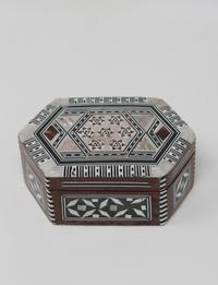 Hexagonal Wooden Box: Small