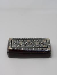 صندوق مجوهرات خشبي - بني غامق