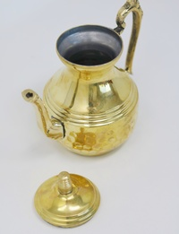 Copper-plated Teapot