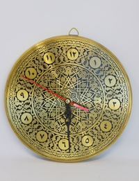 Wall Clock - Copper-plated