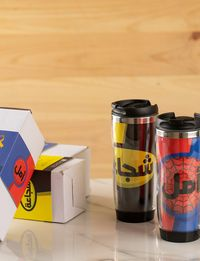 Superhero Travel Cups