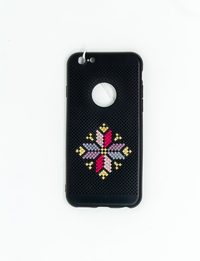 Mobile Cover with Bethlehem Star Embroidery