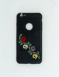 Mobile Cover with Nafnof Embroidery
