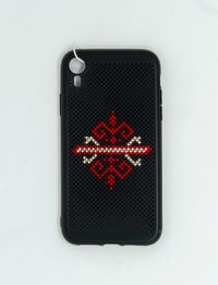 Mobile Cover with Hand Palm Embroidery