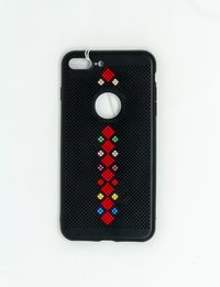 Mobile Cover with Quarters Embroidery