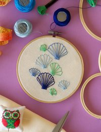 Seashells Embroidery