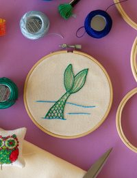 Fish Tale Embroidery