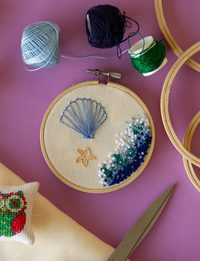 The Shore Embroidery