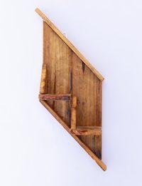 Slop Wooden Shelf
