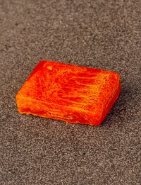 Loofah Soap in Orange