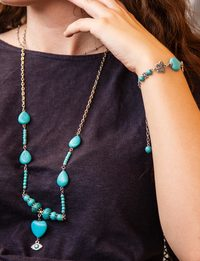 Turquoise Set - Heart