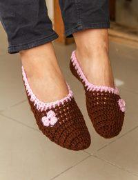 Wool Socks in Brown