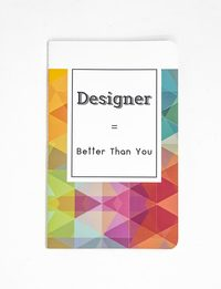 Designer Notebook - Medium