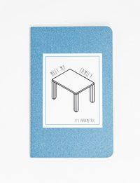 دفتر تصميم الطاولة - وسط