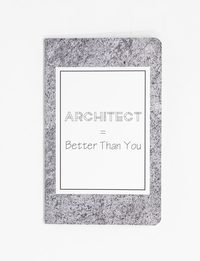 Architect Notebook - Medium