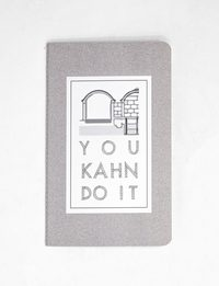 """You Kahn Do It"" Notebook - Medium"