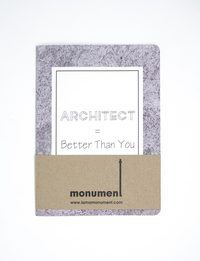 Architect Notebook - Large