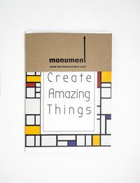 Mondrian Notebook - Large