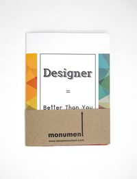 Designer Notebook - Large