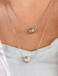Two-Tier Silver Necklace