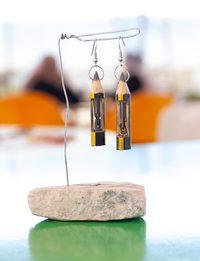 Chain Inside a Pencil Earring