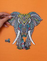 بزل على شكل فيل